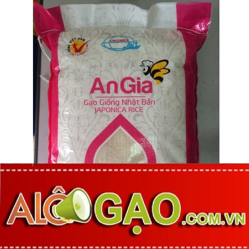 Gạo Japonica An Gia (Túi 5kg)