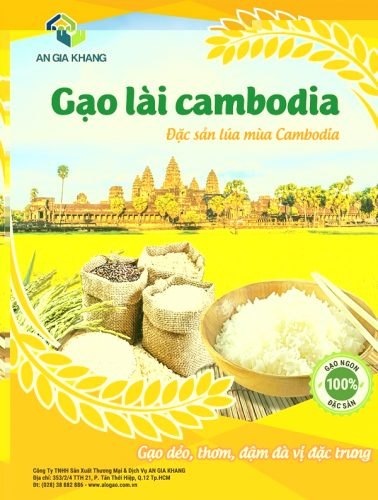 gạo lài Cambodia